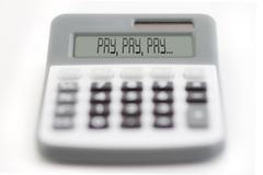 pay - stock photo