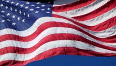 4K Flag USA 03 - stock footage