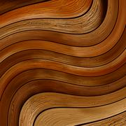 Abstract wood twisted background.  + EPS8 - stock illustration
