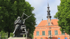 Johannes Hevelius,  astronomer, councillor and mayor of Gdansk 2 Stock Footage