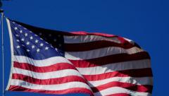 4K Flag USA 06 - stock footage
