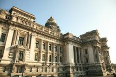 Palais de Justice Brussels Stock Photos
