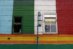 La boca in Buenos Aires Stock Photos