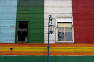 Stock Photo of La boca in Buenos Aires