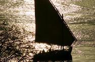 Felucca boat Stock Photos