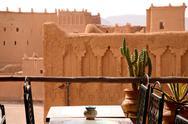 Kasbah in ouarzazate Stock Photos