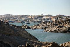 Bay in Luderitz - stock photo