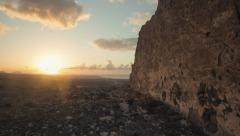 Canary Island Sunrise Stock Footage