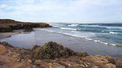 Port lincoln coastline Stock Footage