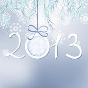 2013 Happy New Year background. + EPS8 Stock Illustration