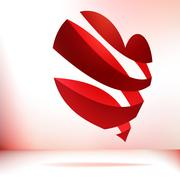 Valentine`s day card.  + EPS8 Stock Illustration