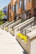townhomes - stock photo