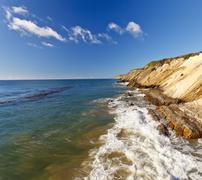 Pacific Ocean coast, California - stock photo