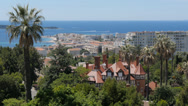 Stock Video Footage of french riviera, cannes, cityscape