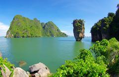 James Bond saari thaimaassa Kuvituskuvat