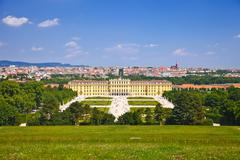Schonbrunn Palace, Vienna, Austria Stock Photos