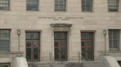 Department of Agriculture Build Stock Footage