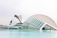 Science and culture center in Valencia, Spain Stock Photos