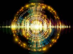 Sound Analyzer - stock illustration