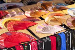 Fans of colors - stock photo