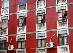 Apartments in Macau Stock Photos