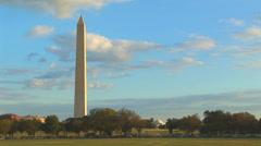 Washington Monument Loop Stock Footage