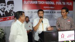 Jokowi , Wiranto, and Jusuf Kalla Stock Footage