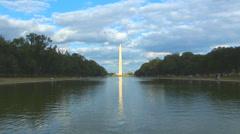 Washington Monument Loop - stock footage