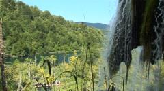 Plitvice Waterfall Loop Stock Footage