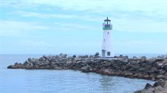 Walton Lighthouse Jet Ski Loop - stock footage