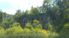 Plitvice Waterfall Loop - stock footage