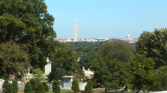 Arlington National Cemetery Loop Stock Footage