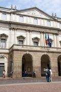 La Scala Theatre, Milan - stock photo