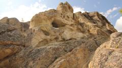 Cliffs Rocks Trails Angel Rocks Stock Footage