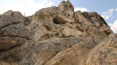 Angel Rocks Alaska Cliffs Rocks Stock Footage