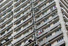 Hong Kong apartments Stock Photos