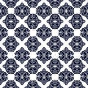 Classic seamless pattern - stock illustration