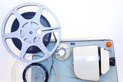 8mm Film Projector Stock Photos