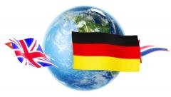 Learning Languages - Flags Around Earth (Loop) Stock Footage