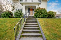 house exterior - stock photo