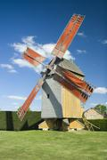 Stock Photo of Windmill at summer