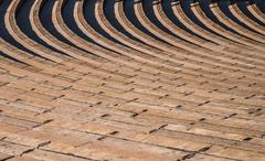 Stock Photo of Rows of Seating in Ampitheater