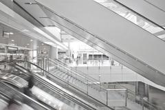 Shopping mall in Central, Hong Kong. Stock Photos