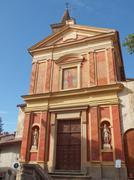 Santa Croce church, Rivoli Stock Photos