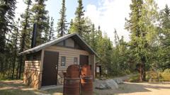 Mountains Tree Alaska Lake - stock footage