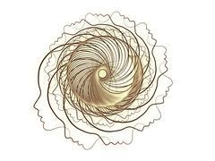 Elegance of Soul Geometry Stock Illustration