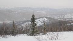 Mountains Snow Alaska - stock footage