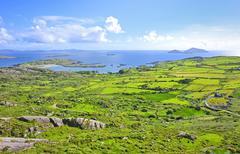 Irlanti maisema Kuvituskuvat