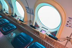Sukellusvene Tenerife - Canary Espanja Kuvituskuvat