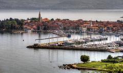 izola town-slovenia - stock photo